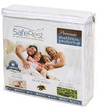 圖片 SafeRest 頂級純棉 防水抗過敏床單 - 雙人